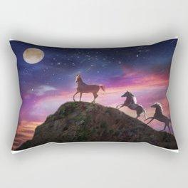 Moon struck Rectangular Pillow