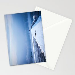Snow winter 4 Stationery Cards