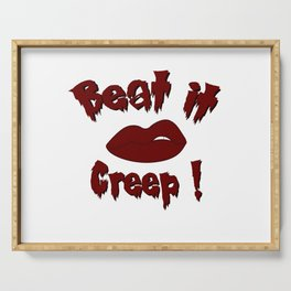 Beat it Creep! Cry Baby Serving Tray