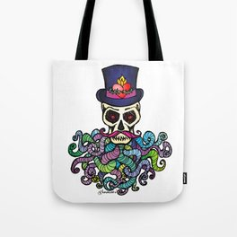 Headless Horseman's Head - The Tentacle Collection Tote Bag
