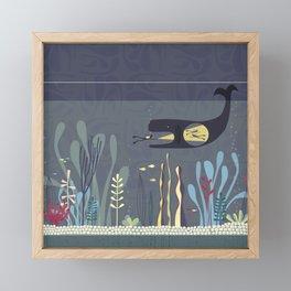 The Fishtank Framed Mini Art Print