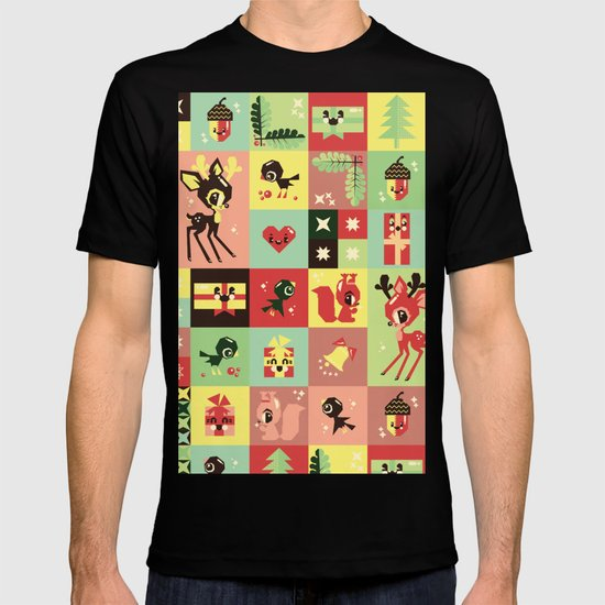 Christmas Geometric Pattern No. 2. T-shirt