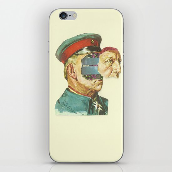 la Pantera Fuerte iPhone & iPod Skin