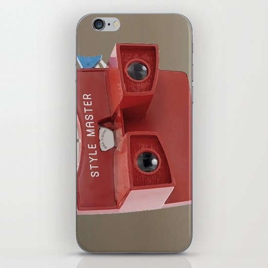 STYLE MASTER VIEWER iPhone & iPod Skin