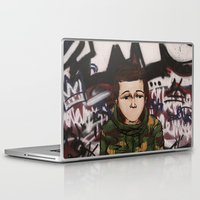 street fighter Laptop & iPad Skins featuring Street fighter by Vince Beauchemin