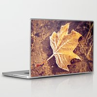 fitzgerald Laptop & iPad Skins featuring Autumn Frost by Elke Meister
