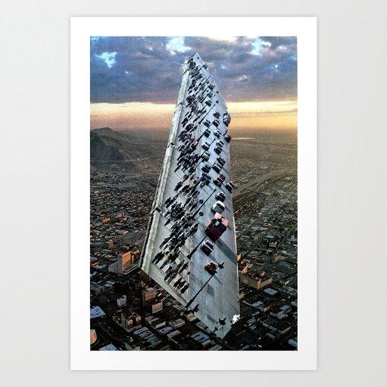 Mile 604 Art Print