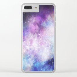 Nebula: Forever Clear iPhone Case