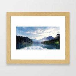 Wanderlust - Mountains, Lake, Forest Framed Art Print