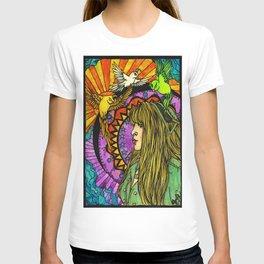 Three Birds of Rhiannon T-shirt