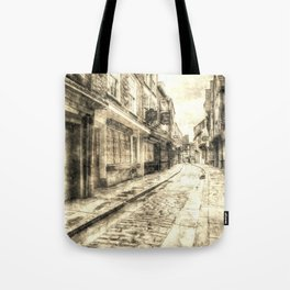 The Shambles York Vintage Tote Bag