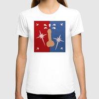 penis T-shirts featuring Felt Penis: Super Schlong by BRENT PRUITT