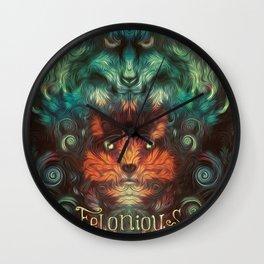 Felonious Wall Clock