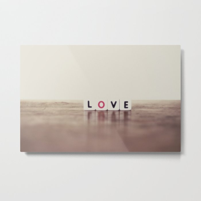 my love Metal Print