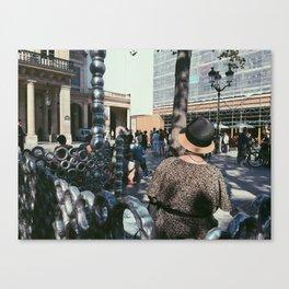 #ParisPostcards || La Parisienne Canvas Print