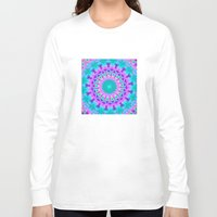 kaleidoscope Long Sleeve T-shirts featuring Kaleidoscope by Sylvia Cook Photography