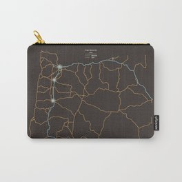 Oregon Highways Carry-All Pouch