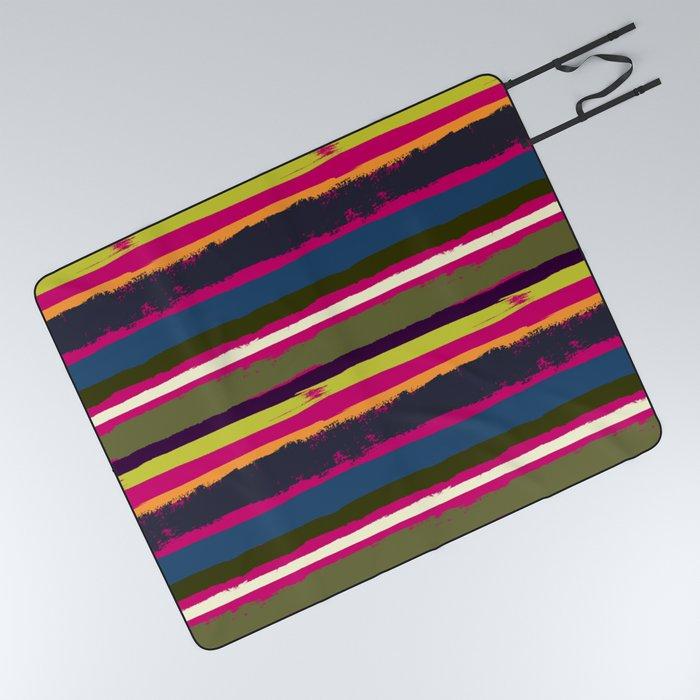 Spurious Rainbow Picnic Blanket