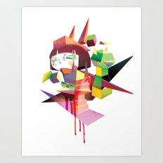 Sugar Cubed Art Print