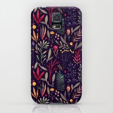 Botanical pattern Slim Case Galaxy S5