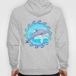 Dolphin Maori Sun Hoody
