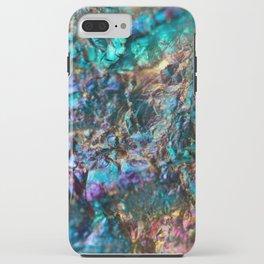 Turquoise Oil Slick Quartz iPhone Case