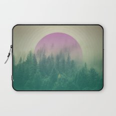 Orchid Vibes Forest Laptop Sleeve