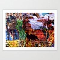 southwest Art Prints featuring Southwest by ArtbyJudi