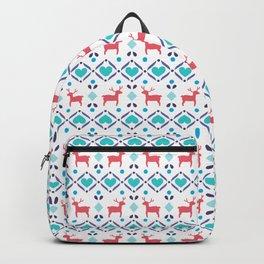 Deers & Hearts Pattern Backpack