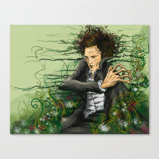 The green thumb curse I Canvas Print