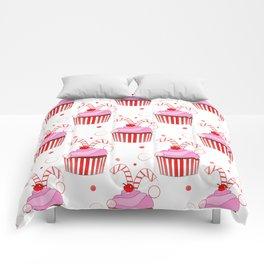 Christmas Cupcakes Comforters
