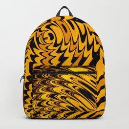 Liquidelica | Orange+Black Backpack