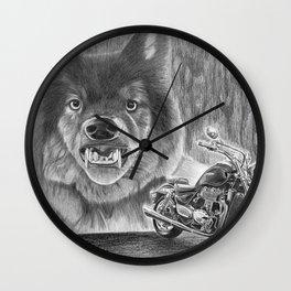 A Wild Ride Wall Clock