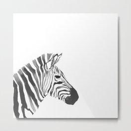 zebraaa Metal Print