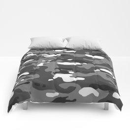Military Camouflage: Urban II Comforters