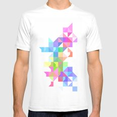 Color Love Mens Fitted Tee White MEDIUM