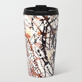 Printed splatter  Travel Mug