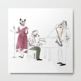 Bestial jazz-band 2 Metal Print