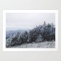 White Mountains of NH Art Print