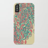 coral iPhone & iPod Cases featuring Coral  by LindsayMichelle