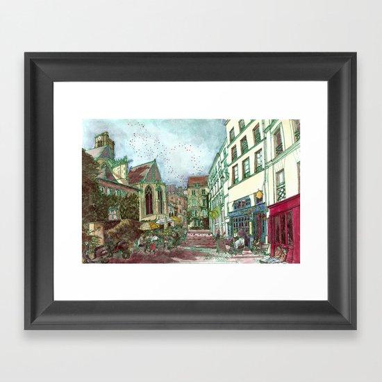 Parisia Framed Art Print