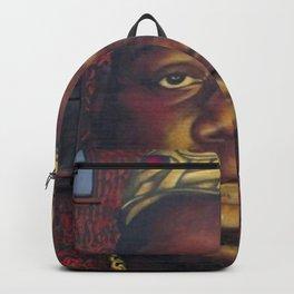 "African American 'King of New York', Bedford–Stuyvesant ""Biggie"" Mural Photograph Backpack"