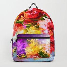 Flower face Backpack
