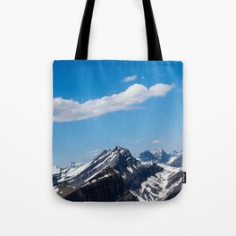 Dreamy Mountain Tops Tote Bag