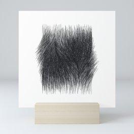 P E L T (long) 1 /// Original Abstract Minimalist Geometric Mini Art Print