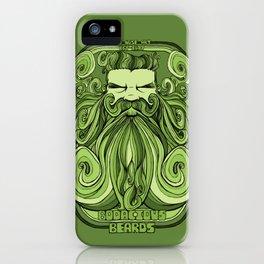 Bodacious Beard - Green iPhone Case