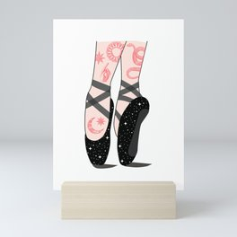 Space Dance Mini Art Print