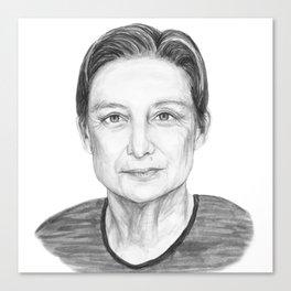 Judith Butler Canvas Print