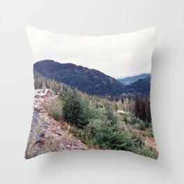 squamish 2014 Throw Pillow