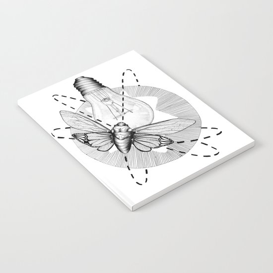Moth to the Flame Notebook